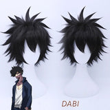 My Hero Academia Dabi Cosplay Wig
