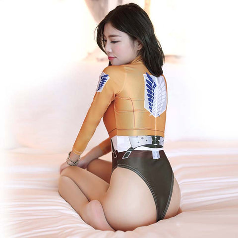 Attack on Titan Spandex Bodysuit Cosplay