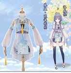 VOCALOID CHINA PROJECT Luo Tianyi Cute White Costume Cosplay