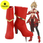 Fate Fate/Apocrypha Servant Mordred Cosplay Shoes