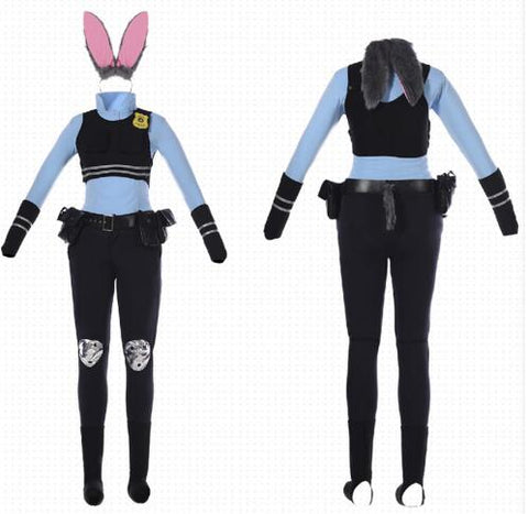 Zootopia Officer Judy Hopps Costume Cosplay