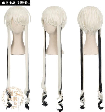 Houseki no Kuni Ghost Crystal Land of the Lustrous Cosplay Wig