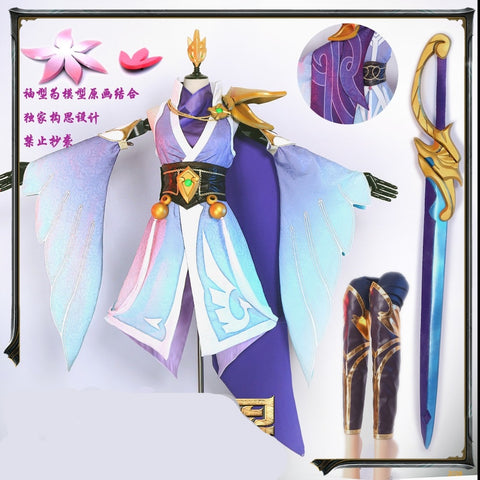 LoL The Grand Duelist Fiora Cosplay Costume