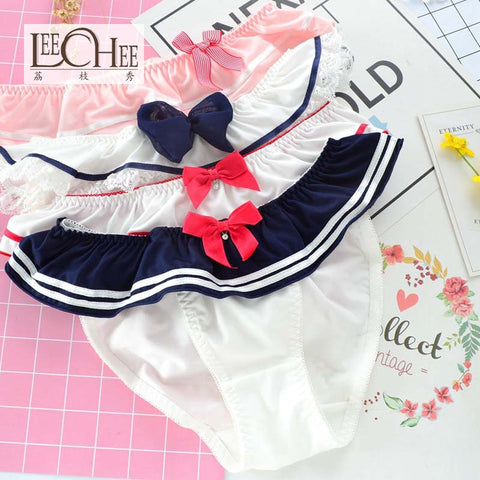 Sailor Moon-Inspired Sailor Kawaii Underwear
