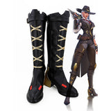 Overwatch Ashe Cosplay High-heeled Boots