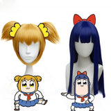 POP TEAM EPIC Pipimi & Popuko Cosplay Wig + Accessories