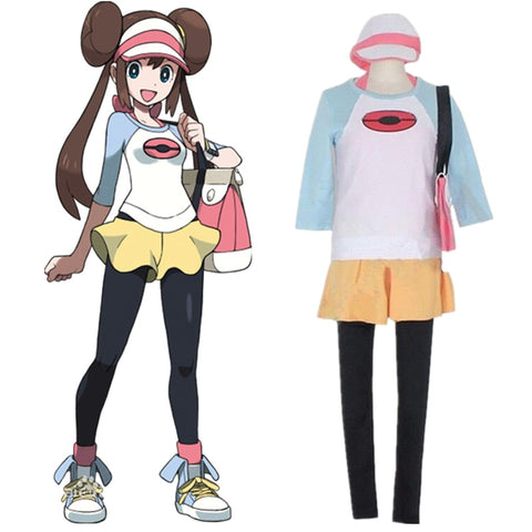 Pokemon Black 2 and White 2 Rosa Cosplay Costume