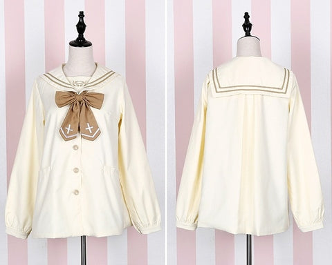 Lolita Kawaii Angel/Devil Sailor Collar Seifuku