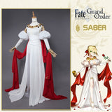 Fate Grand Order FGO Saber Nero Cosplay Costume
