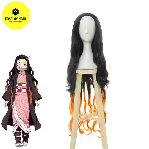 Demon Slayer Nezuko Kamado Cosplay Wig
