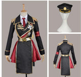 K Project Anna Kushina Military Cosplay Costume