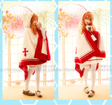 SAO Sword Art Online Yuki Asuna Cosplay Coat