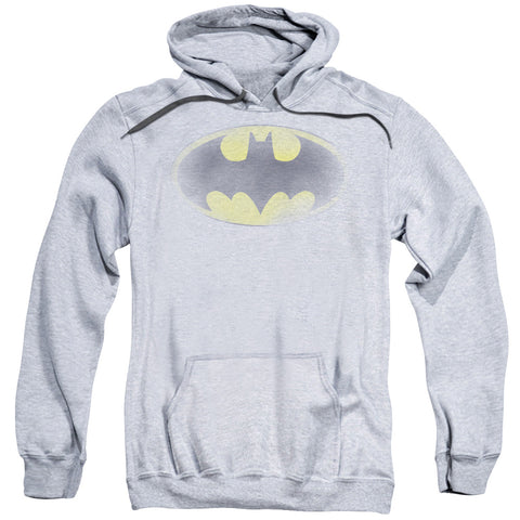 Batman - Faded Logo Adult Pull Over Hoodie
