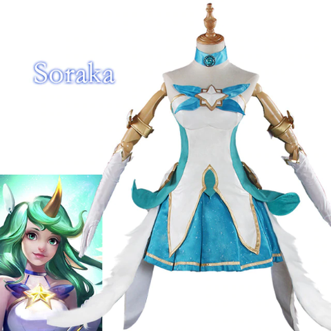 LoL Star Guardian Soraka Costume Cosplay