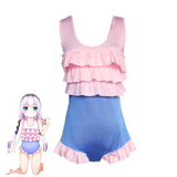 Miss Kobayashi San Chi No Maid Dragon Maid Kanna Kamui Swimsuit Cosplay