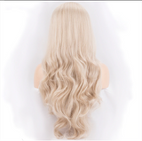 "22"" Wavy Ash Blonde Lace Front Wig"