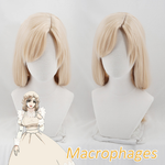 Cells at Work Macrophages Blonde Cosplay Wig