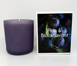 Extra Large Candle - Plum & Blackcurrant