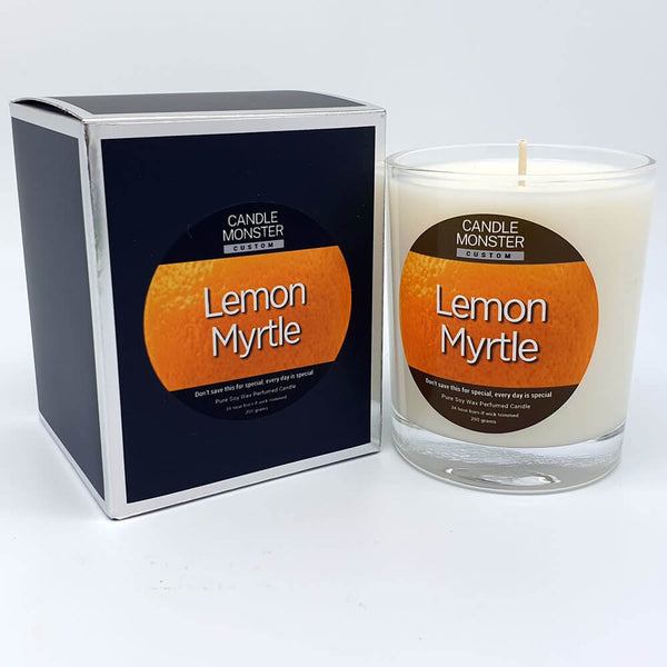 Lemon Myrtle Scented Candle - Candle Monster