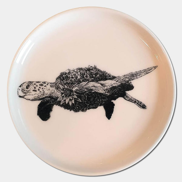 Sea Turtle Saucer - Candle Monster