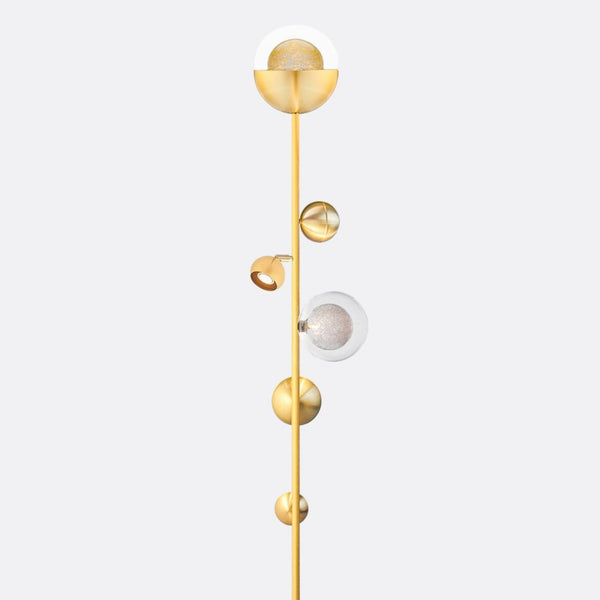 Bloom Floor Lamp Blown Glass