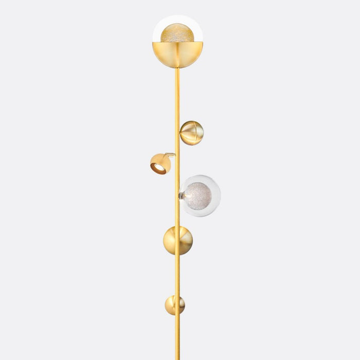 Bloom Floor Lamp Blown Glass- By Shakuff