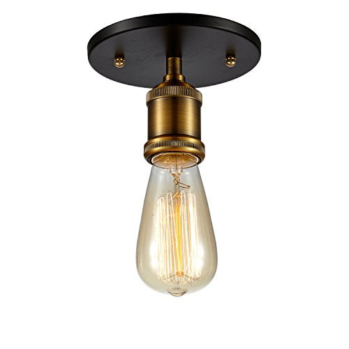 Edison ceiling light industrial Flush mount retro vintage  style