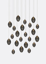Copy of Cocoon Hand Blown Glass (11-22 Pendants )