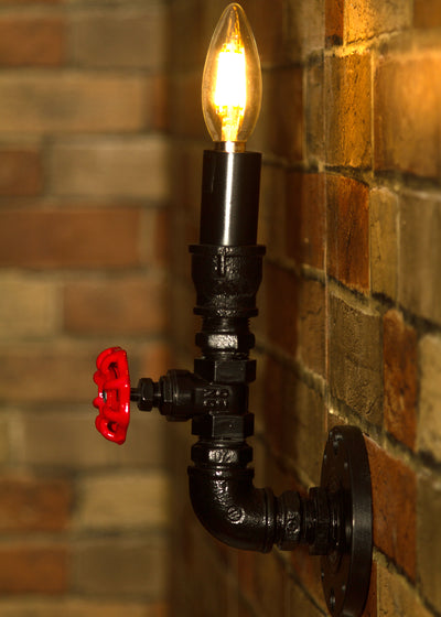 OHR Lighting Industrial Vintage Wall Sconce Candle Base E12 MAX 40W (ED400)