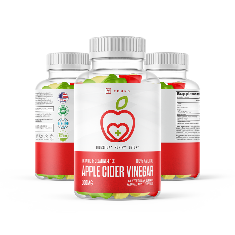 Apple Cider Vinegar Gummies – 60 per Pack