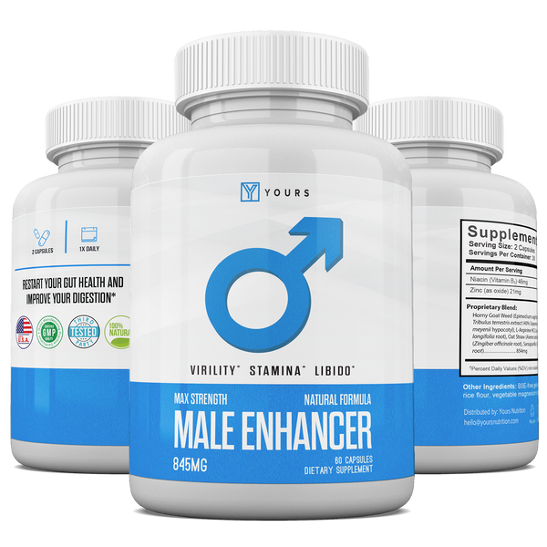 Testosterone Booster Supplements for Men – Improved Mood, Physical and Mental Performance, Leaner Body, Etc