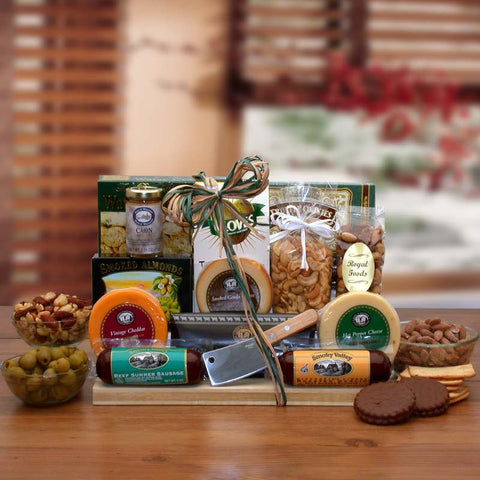 Ultimate Exclusive Gourmet Nut & Sausage Gift Set