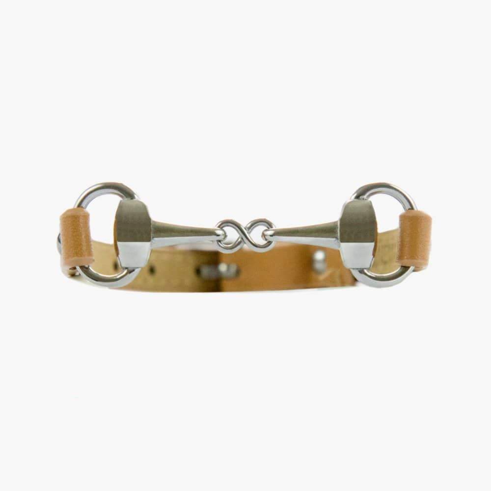 Fano - Bracelet en cuir simple tour - mors ESP Equestrian shop