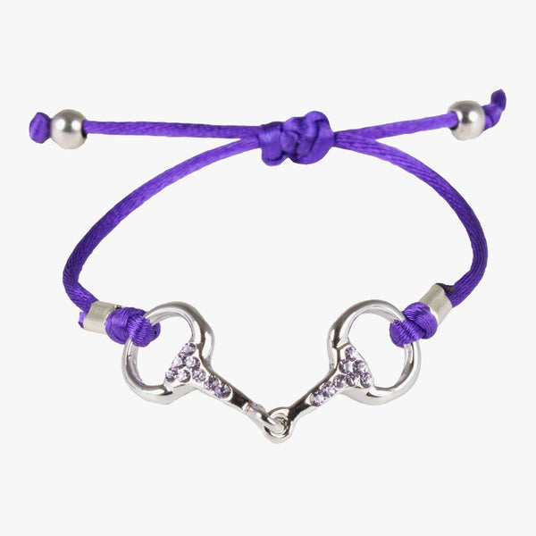 Sam - Bracelet mors strass couleur