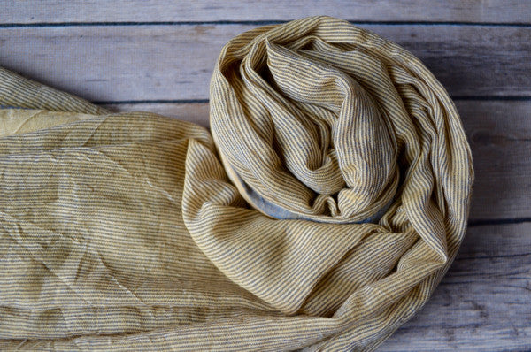 Sara Cotton Scarf - Indigo Traders