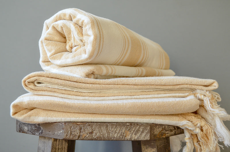 Malik Raw Silk Towel