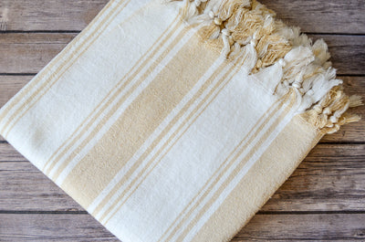 Malik Raw Silk Towel - Indigo Traders