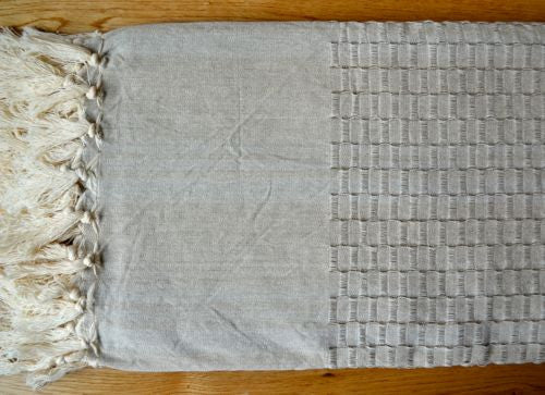 Lattice Pestemal Towel - Indigo Traders
