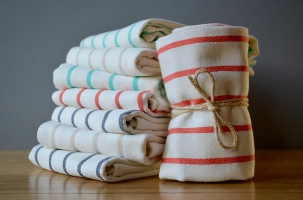 Cotton Dish Towels - Turkish Cotton Kitchen Towels