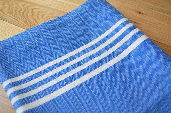 Matta Fringeless Cotton Towel - Indigo Traders