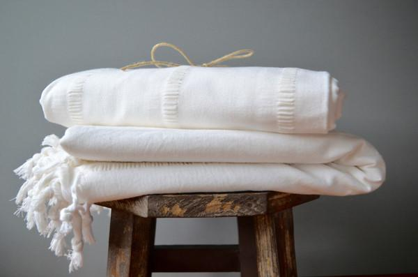 Atalan Cotton Table Linen - Indigo Traders