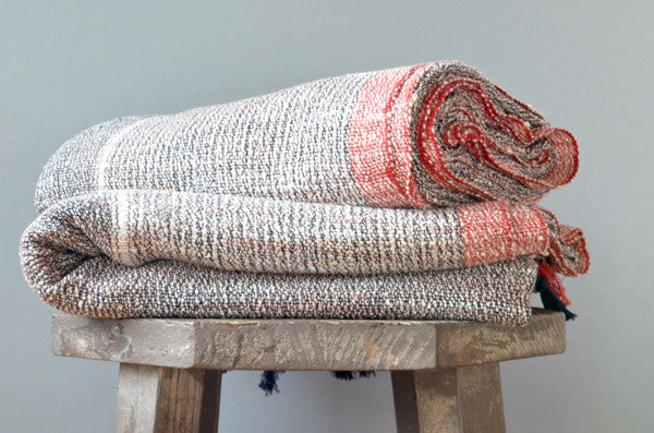 Matta Raw Silk Towel - Indigo Traders