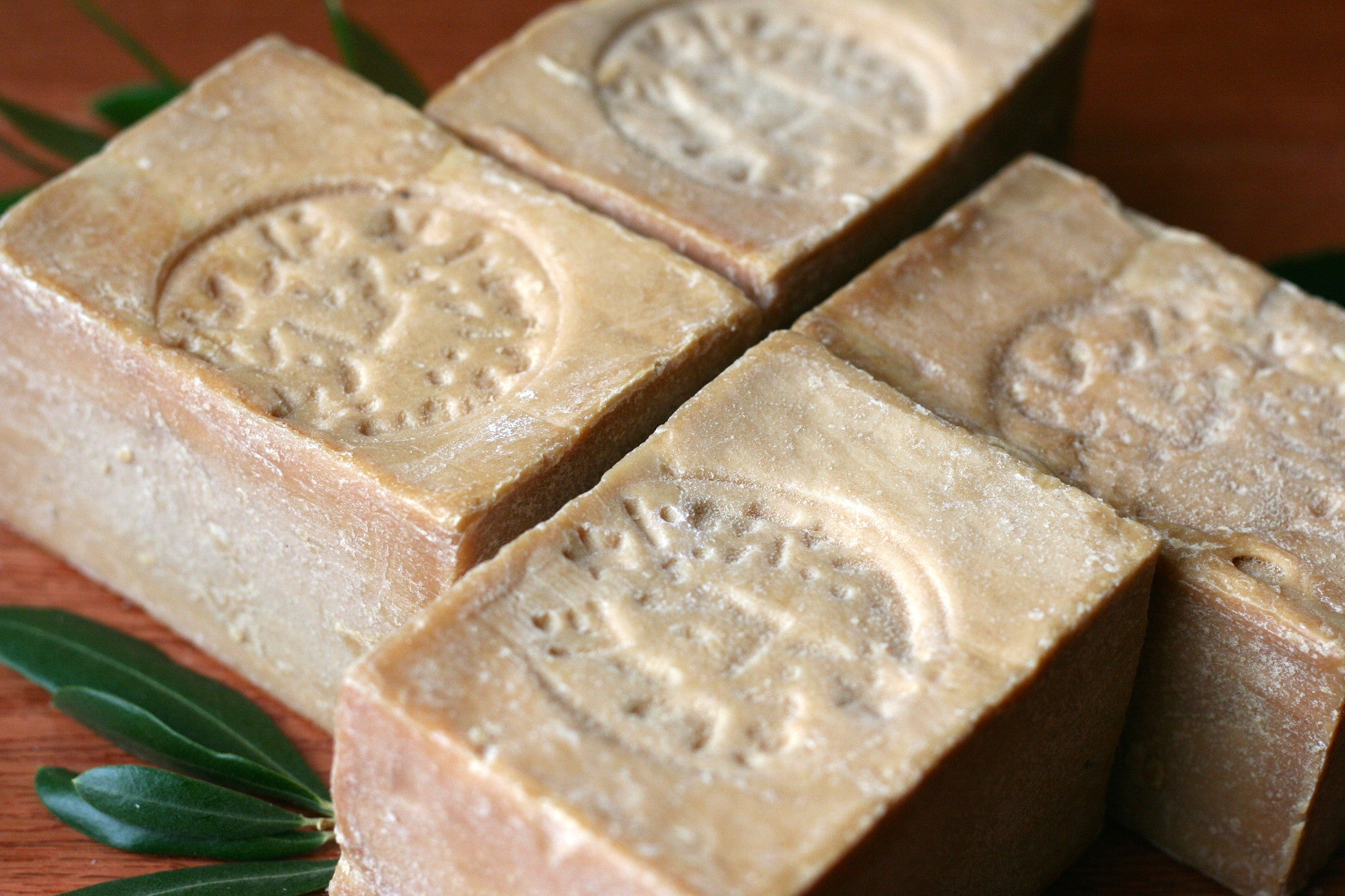 Syrian olive oil soap - Mediterranean olive oil soap - All natural soap - Guar soap - Bay laurel and olive oil soap