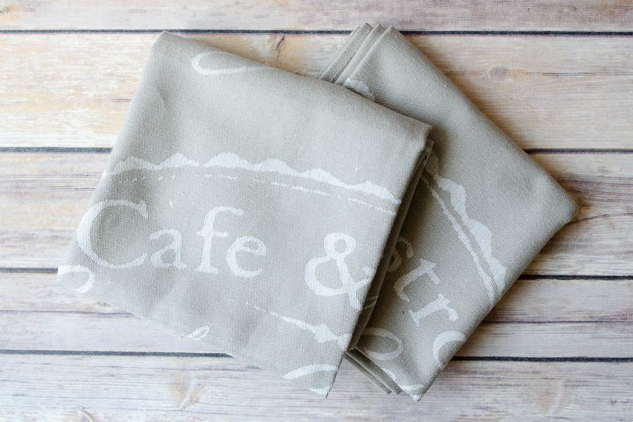 Cotton Dish Towel - Set of 2