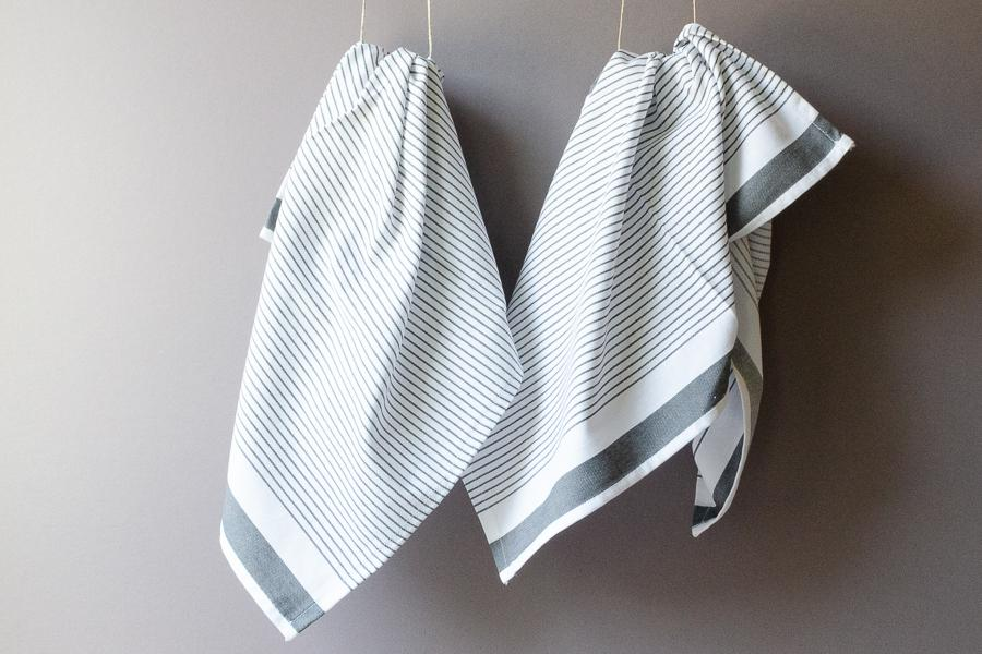 Cotton Dish Towel - Set of 2 - Indigo Traders