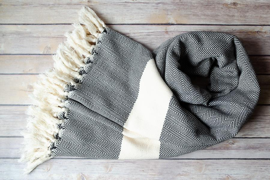 Lucia Cotton Throw