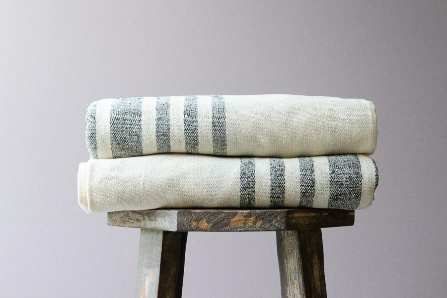 Antakya Raw Silk Towel - Indigo Traders