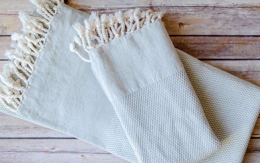 Emil Cotton Towel - Indigo Traders