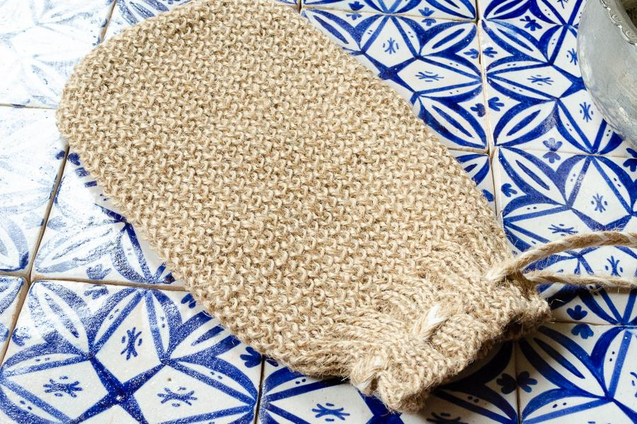 Hemp Bath Mitt - Indigo Traders