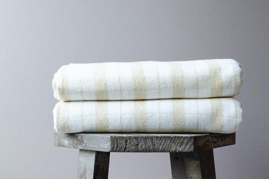 Mais Raw Silk Towel - Indigo Traders